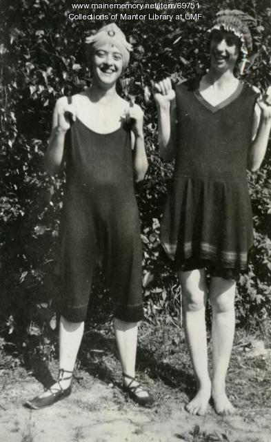 Swimming Costumes, Farmington State Normal School, ca. 1922