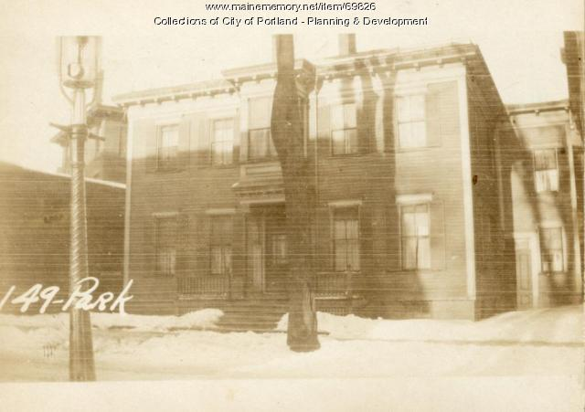 147-149 Park Street, Portland, 1924
