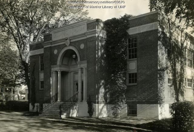 Alumni Gymnasium, Farmington State Normal School, ca. 1946