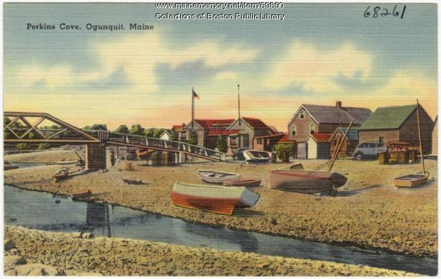 Perkins Cove, Ogunquit, ca. 1938