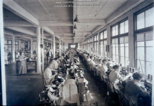 Women workers, Lewiston, 1916