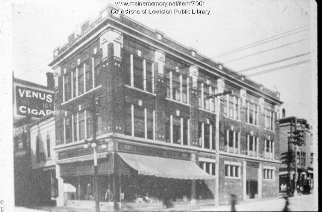 Lisbon Street, Lewiston, ca. 1900
