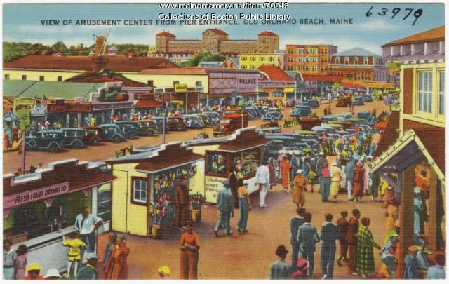 Amusement Center, Old Orchard Beach, ca. 1938