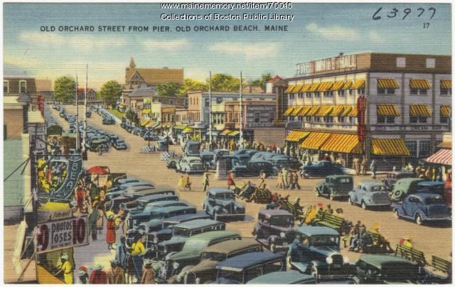 Old Orchard Beach, ca. 1938
