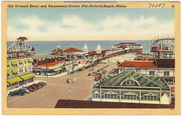 Bathing beach, Ocean Park, ca. 1938