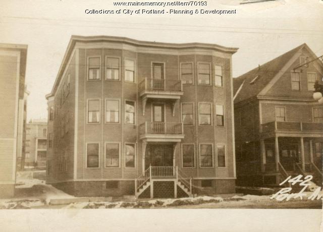 142-144 Park Avenue, Portland, 1924