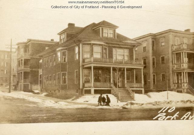 110-112 Park Avenue, Portland, 1924