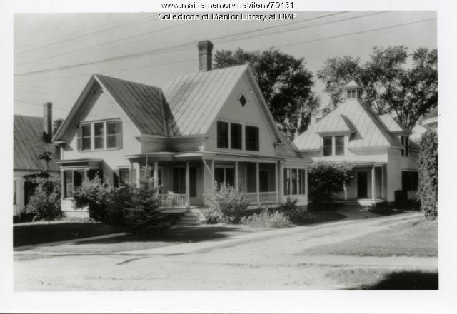 Home economics cottage, Farmington State Normal School, ca. 1940
