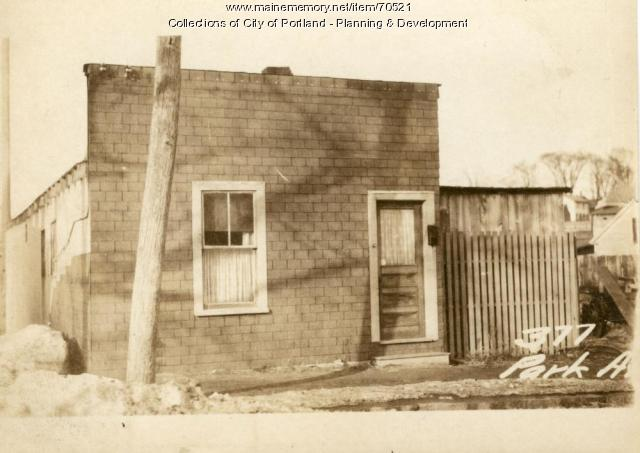 373-375 Park Avenue, Portland, 1924