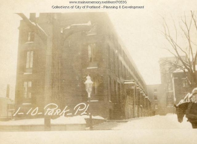 2-4 Park Place, Portland, 1924