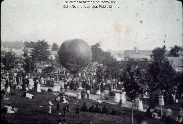 City Park, Lewiston, ca. 1900