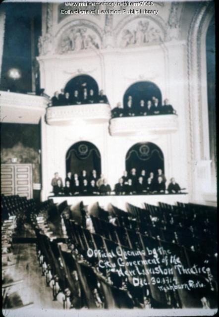 Empire Theatre, Main Street, Lewiston 1914
