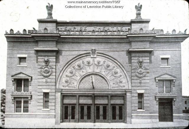Empire Theatre, Lewiston, ca. 1903