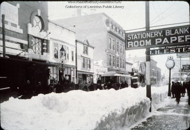 Lisbon Street, Lewiston, ca. 1905