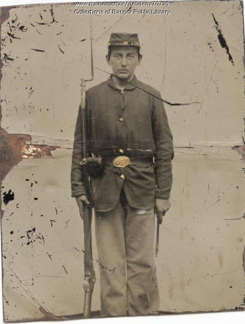 Civil War infantry soldier, ca. 1862