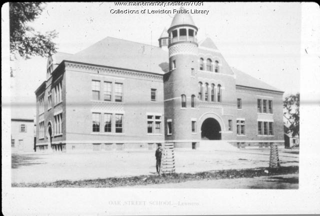 Dingley Building, Oak Street School, Lewiston