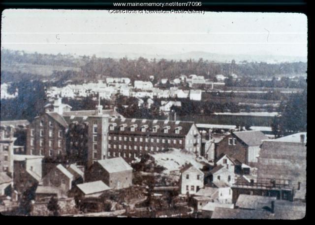 Libbey Mill, Lewiston, ca. 1895