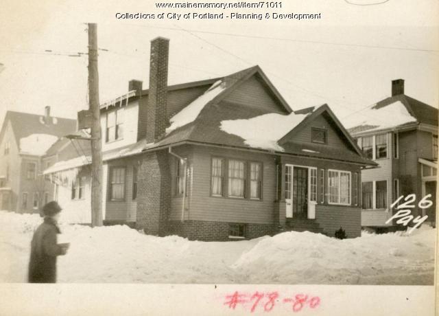 124-126 Payson Street, Portland, 1924