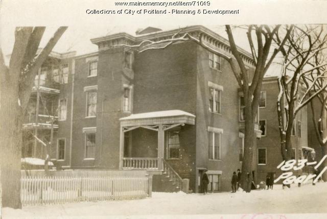 181 Pearl Street, Portland, 1924