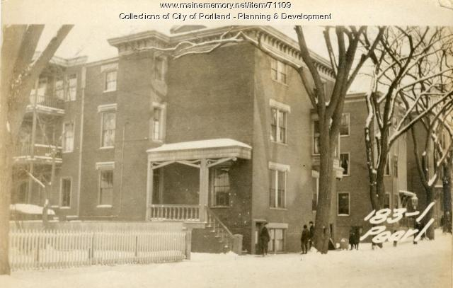 183 Pearl Street, Portland, 1924