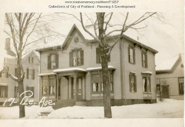 13-19 Pleasant Avenue, Portland, 1924
