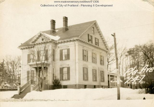 139-151 Pleasant Avenue, Portland, 1924