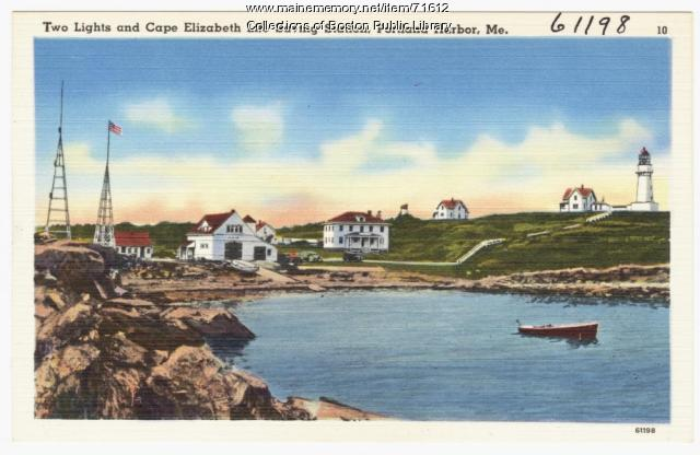 Two Lights, Cape Elizabeth, ca. 1938