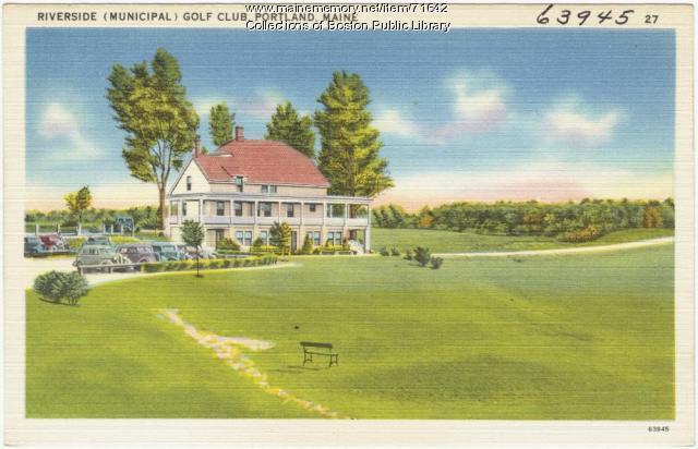 Riverside Golf Club, Portland, ca. 1938
