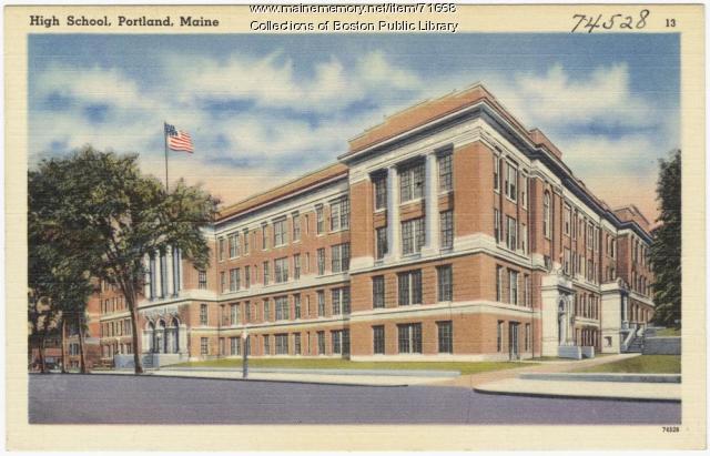 Portland High School, ca. 1938