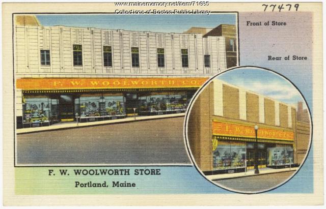 F.W. Woolworth Store, Portland, ca. 1946