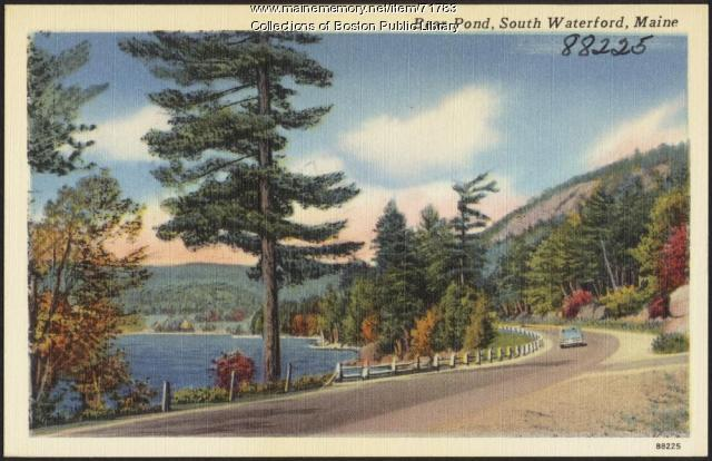 Bear Pond, South Waterford, ca. 1938