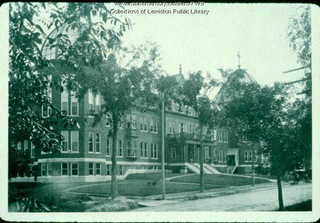 St. Mary's Hospital, Lewiston, ca. 1900