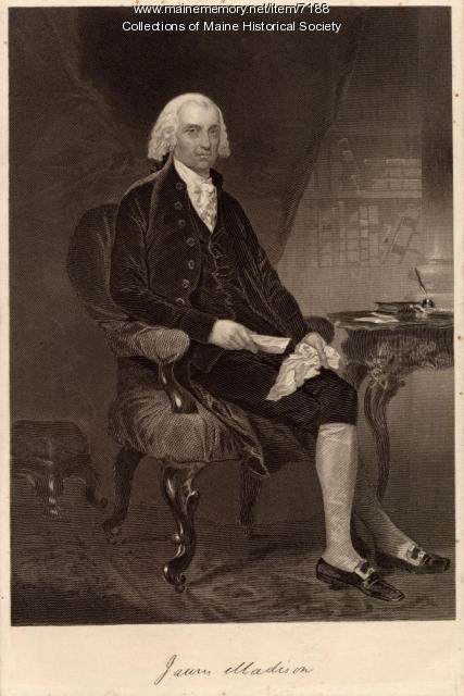 James Madison, ca. 1820