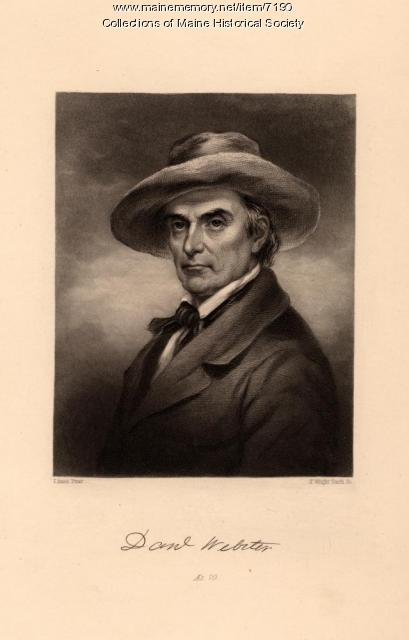 Daniel Webster, ca. 1820
