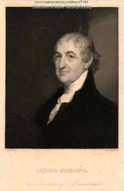Caleb Strong, Massachusetts, ca. 1810