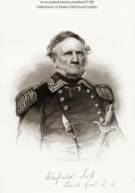 General Winfield Scott, ca. 1855