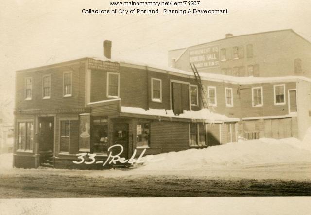 33 Preble Street, Portland, 1924