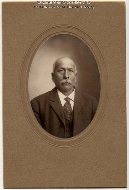 Nicholas Sockabasin, 1907