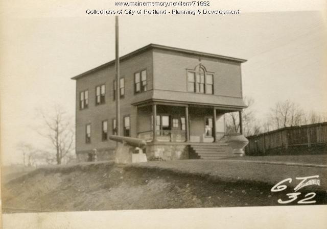 Railroad Y.M.C.A., Presumpscot Street (rear), Portland, 1924