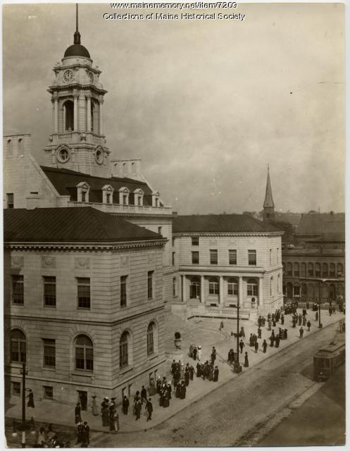 Portland City Hall, ca. 1915