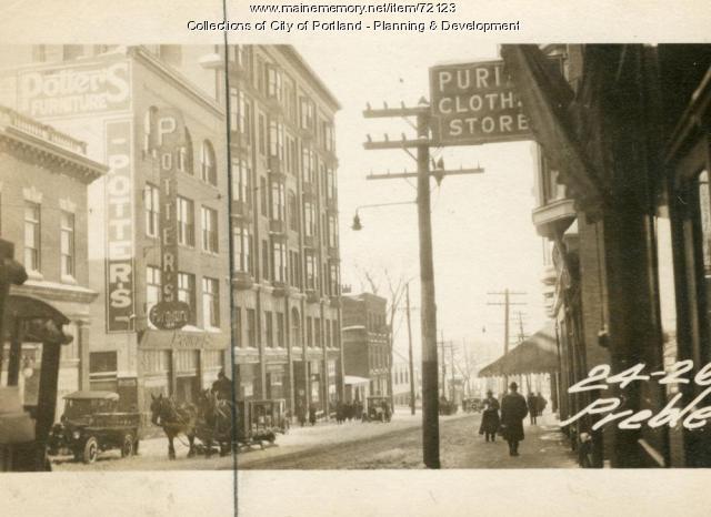 24 26 Preble Street Portland 1924