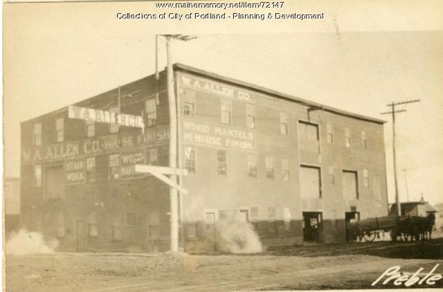 121-125 Somerset Street, Portland, 1924