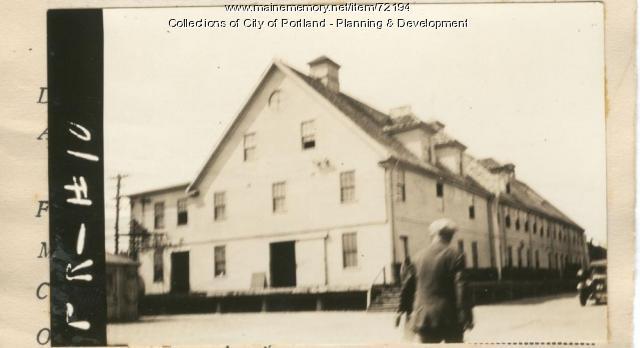 147-183 Presumpscot Street, Portland, 1924