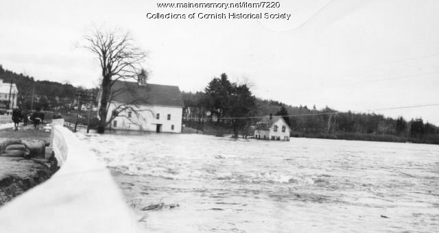 Station Bridge during Floods of March 1936