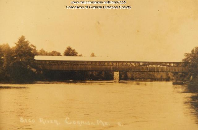 Station Bridge between Cornish and West Baldwin