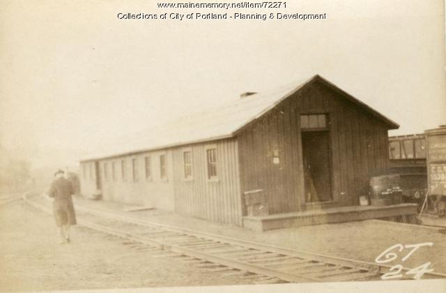 Storage & Air Brake Room, Presumpscot Street (rear), Portland, 1924