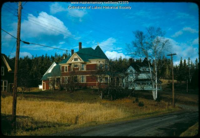Lawrence Brothers homes, North Lubec, 1975