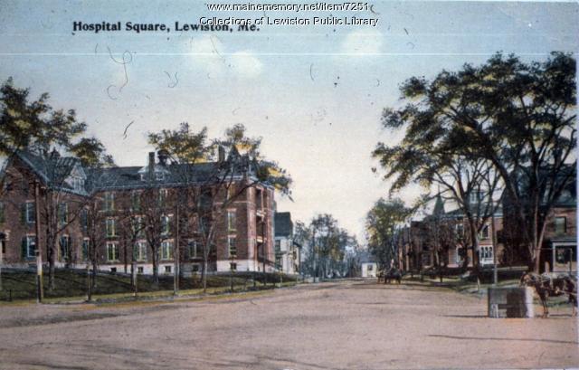 Hospital Square, Lewiston