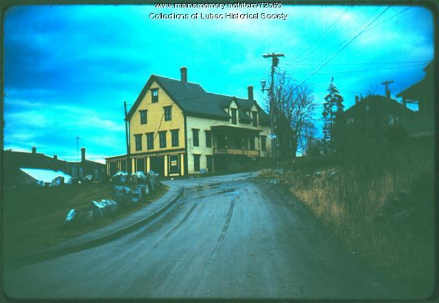 Stearns Hotel building, Lubec, 1975