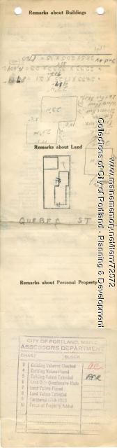 39 Quebec Street, Portland, 1924